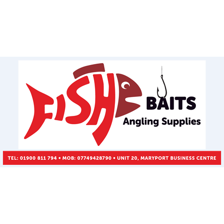 Fish baits angling supplies maryport cumbria ca15 8ng for Fishing gear stores near me