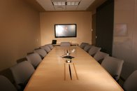The conference room at the Nadrich & Cohen personal injury law firm in San Jose.