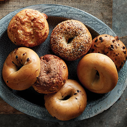 Enjoy a bagel variety pack for your next group breakfast.