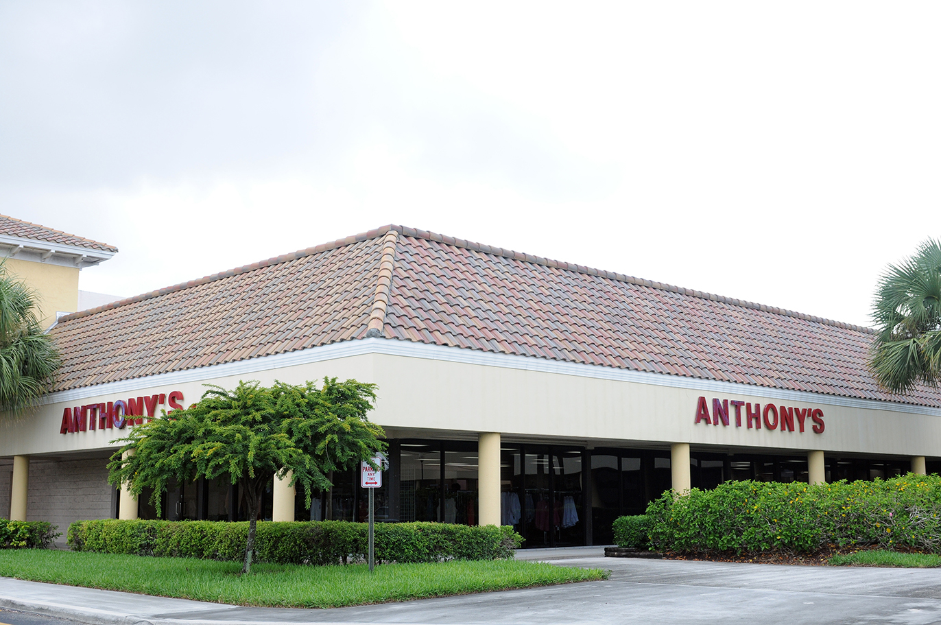 Anthony's clothing stores in florida