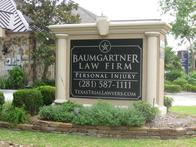 Baumgartner Law Firm 6711 Cypress Creek Pkwy Houston, TX  77069  (281) 587-1111  Its Simple- Pay Nothing Unless We Win Your Case!