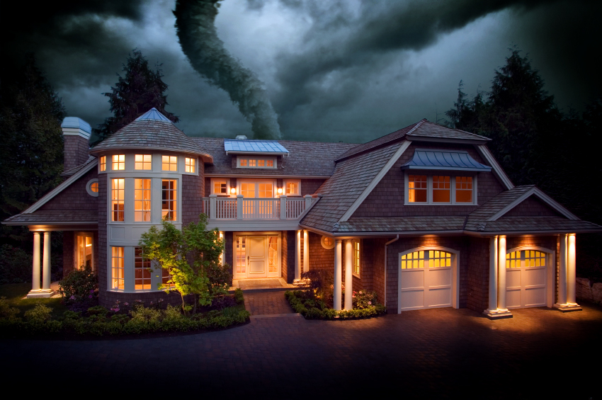 Natural disaster damage claims with restoration