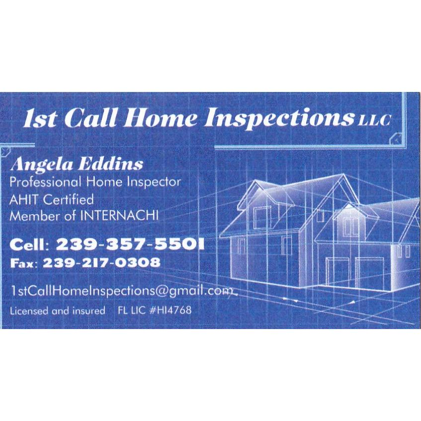 1st Call Home Inspections LLC