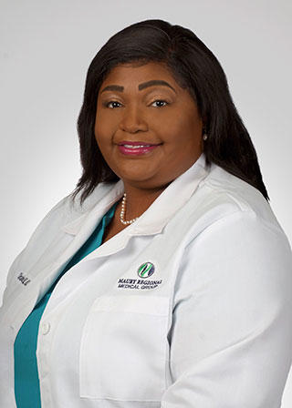 Shakevia Johnson, M.D., M.S.