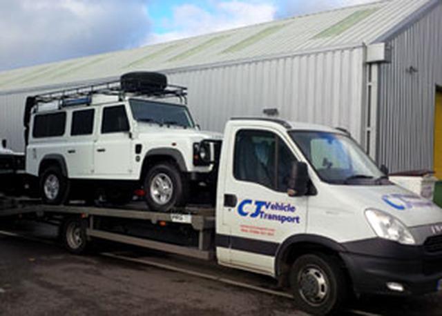 Cj Vehicle Transport Ltd