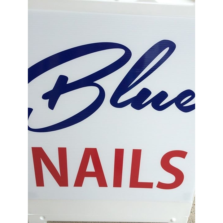 image of Blue Nails