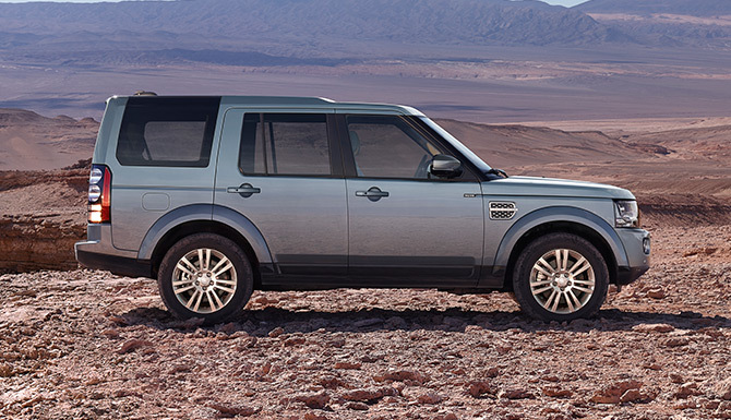 Land Rover George