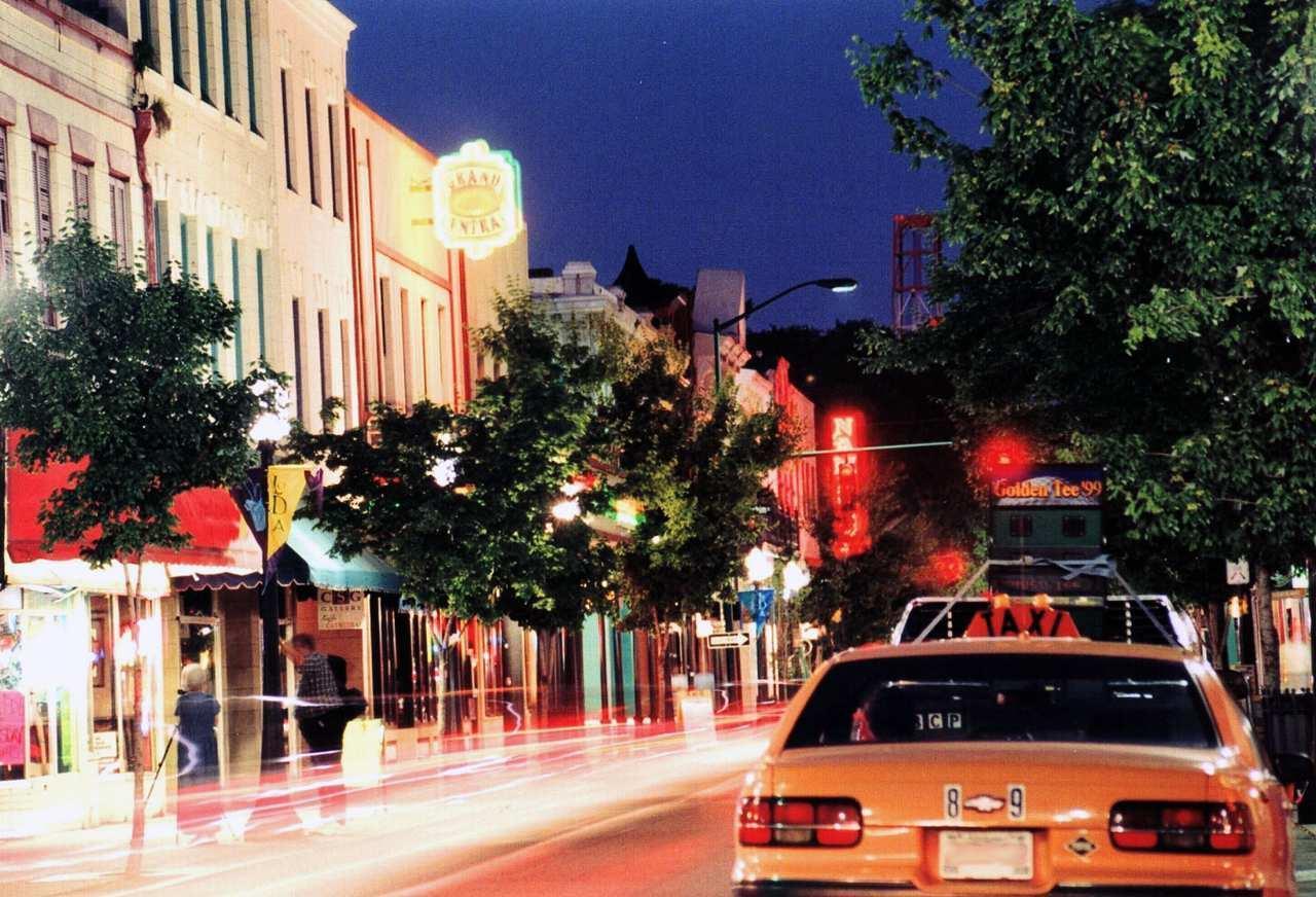 Dauphin Street Nightime