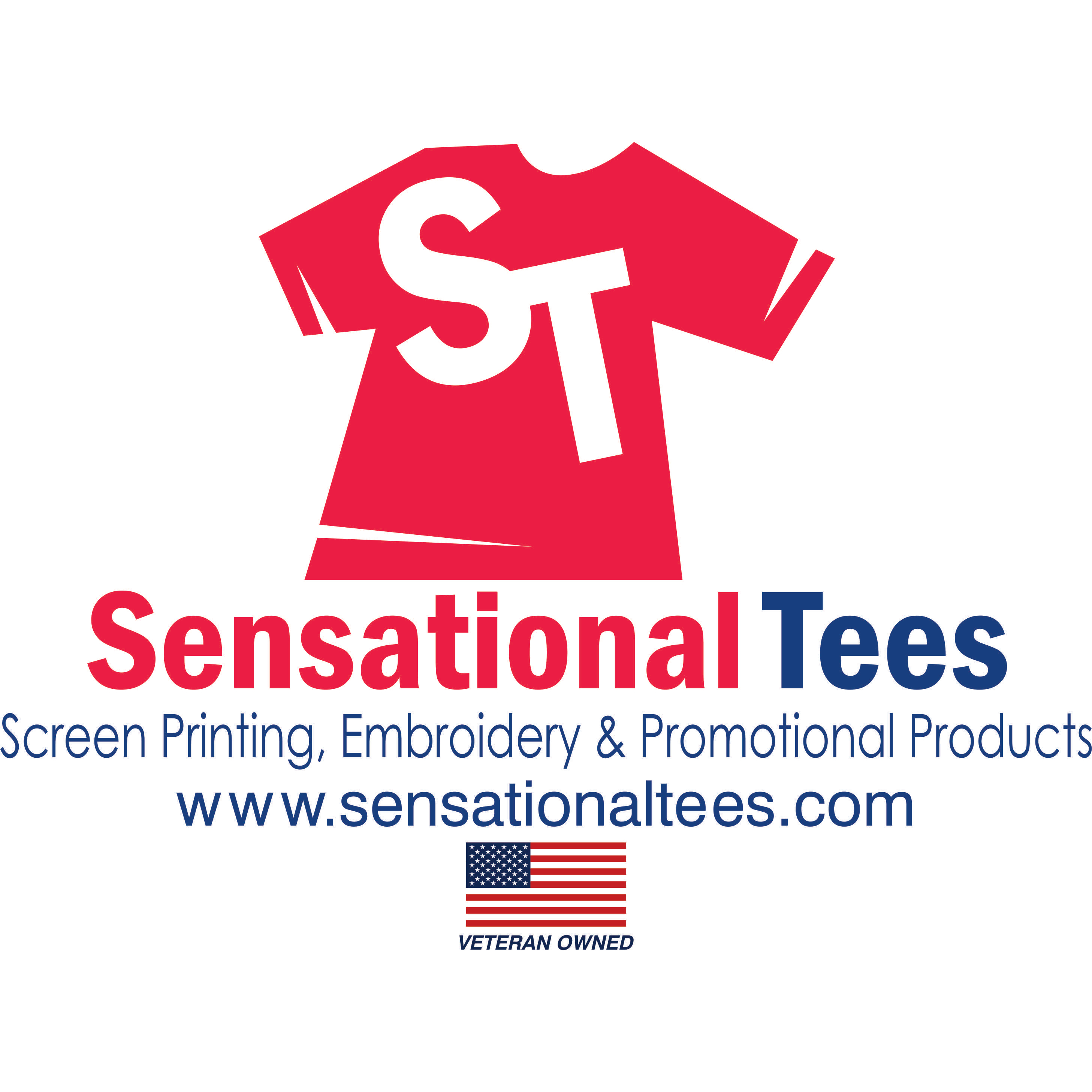 image of the Sensational Tees Screen Printing, Embroidery & Promotional Products