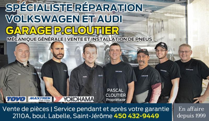 Garage P Cloutier à Saint-Jérôme