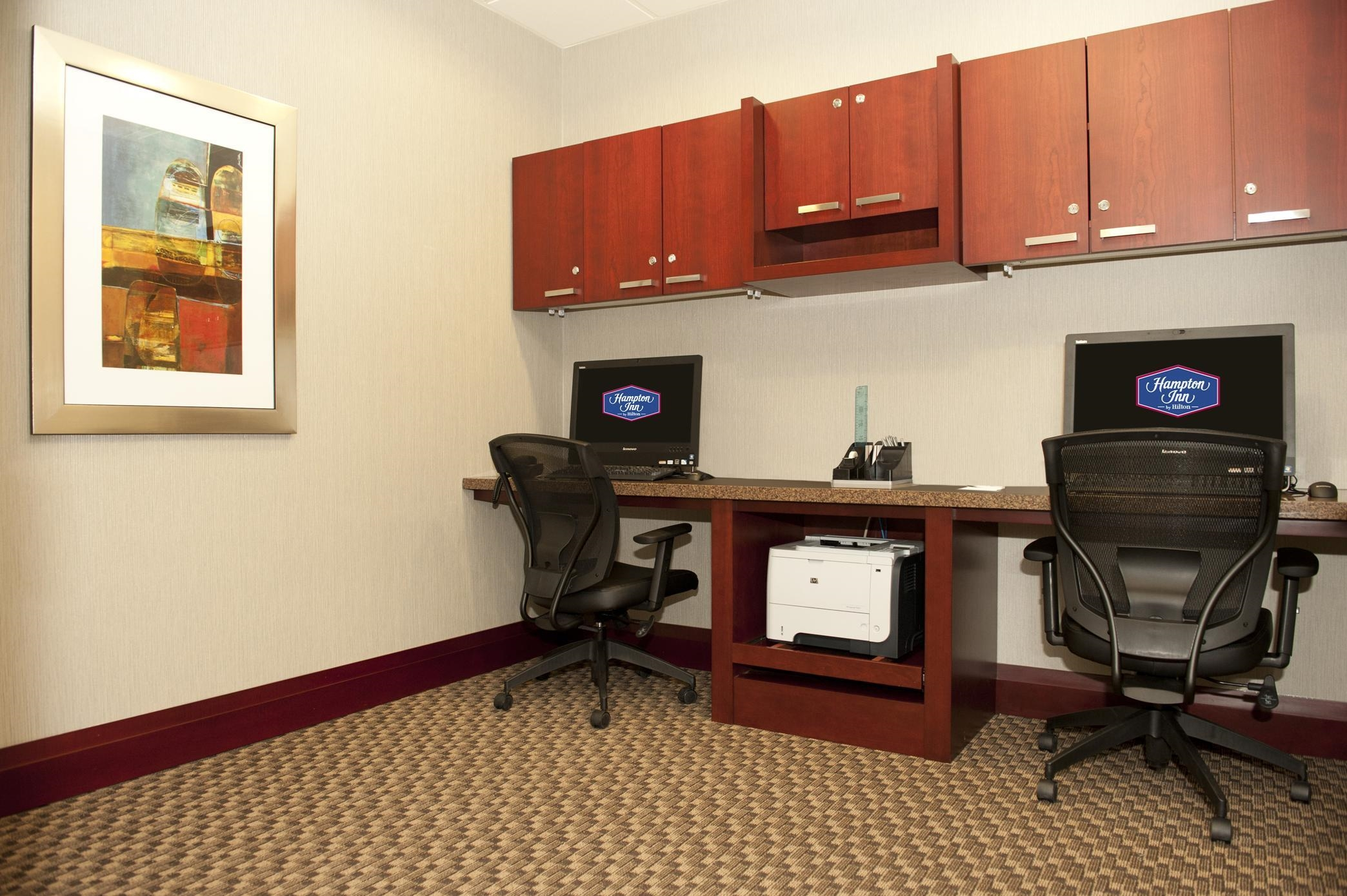 Hampton Inn by Hilton Brampton Toronto à Brampton: Business Center