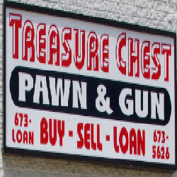Treasure Chest Pawn & Gun