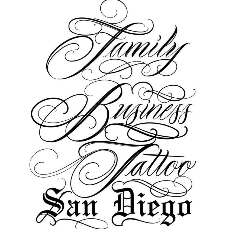 Family Business Tattoo San Diego