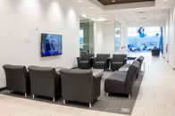 We have a comfortable seating, free wi-fi, coffee, snacks and more in our customer lounge at Rodeo Hyundai in Surprise.