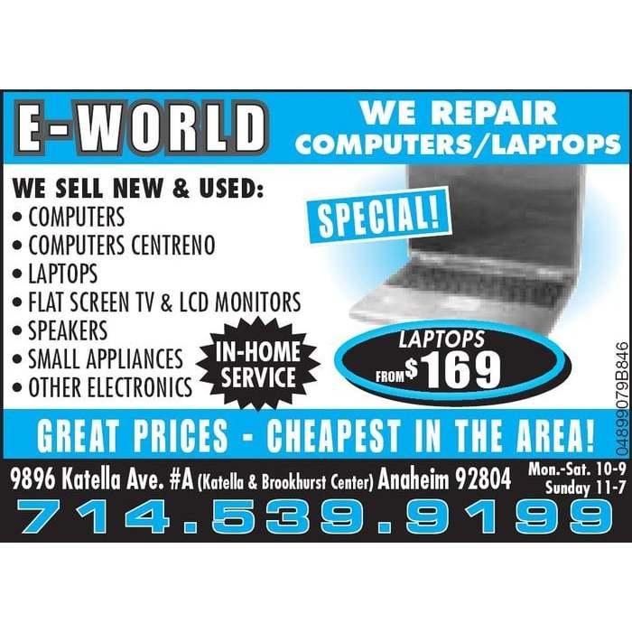Eworld Computers