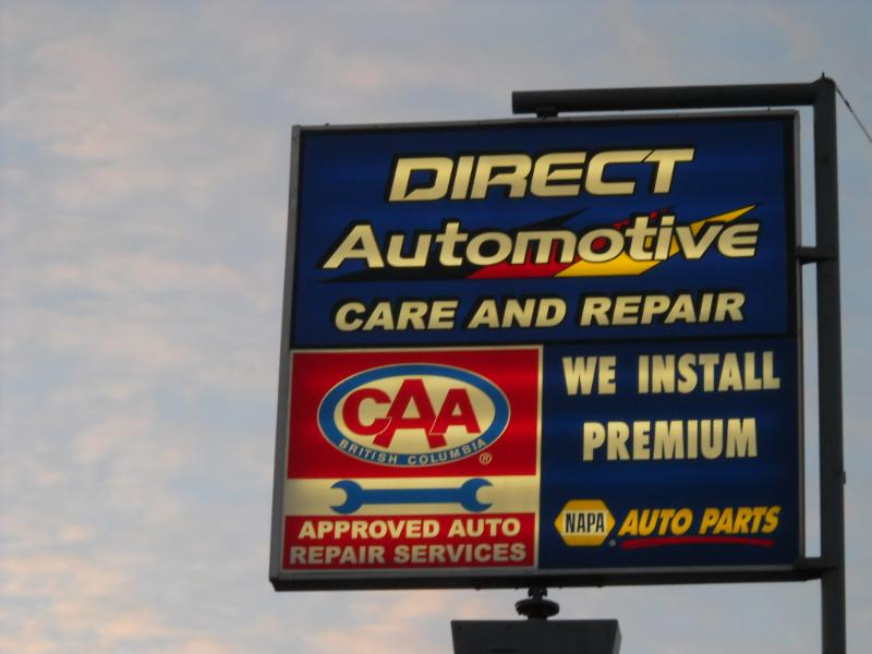 PG Direct Automotive Care & Repair in Prince George