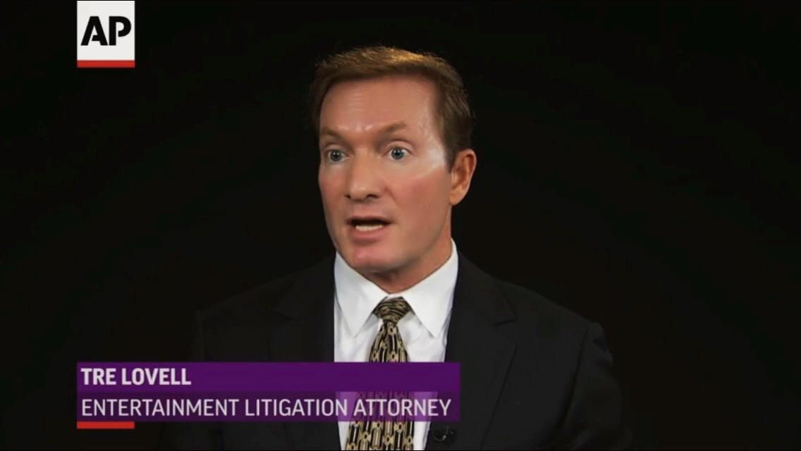 Television Interview regarding Taylor Swift case.