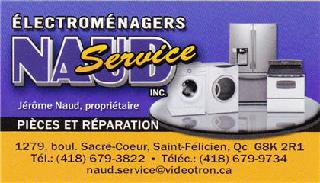 Naud Service Enr à Saint-Félicien