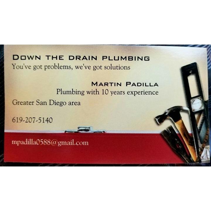 Down The Drain Plumbing