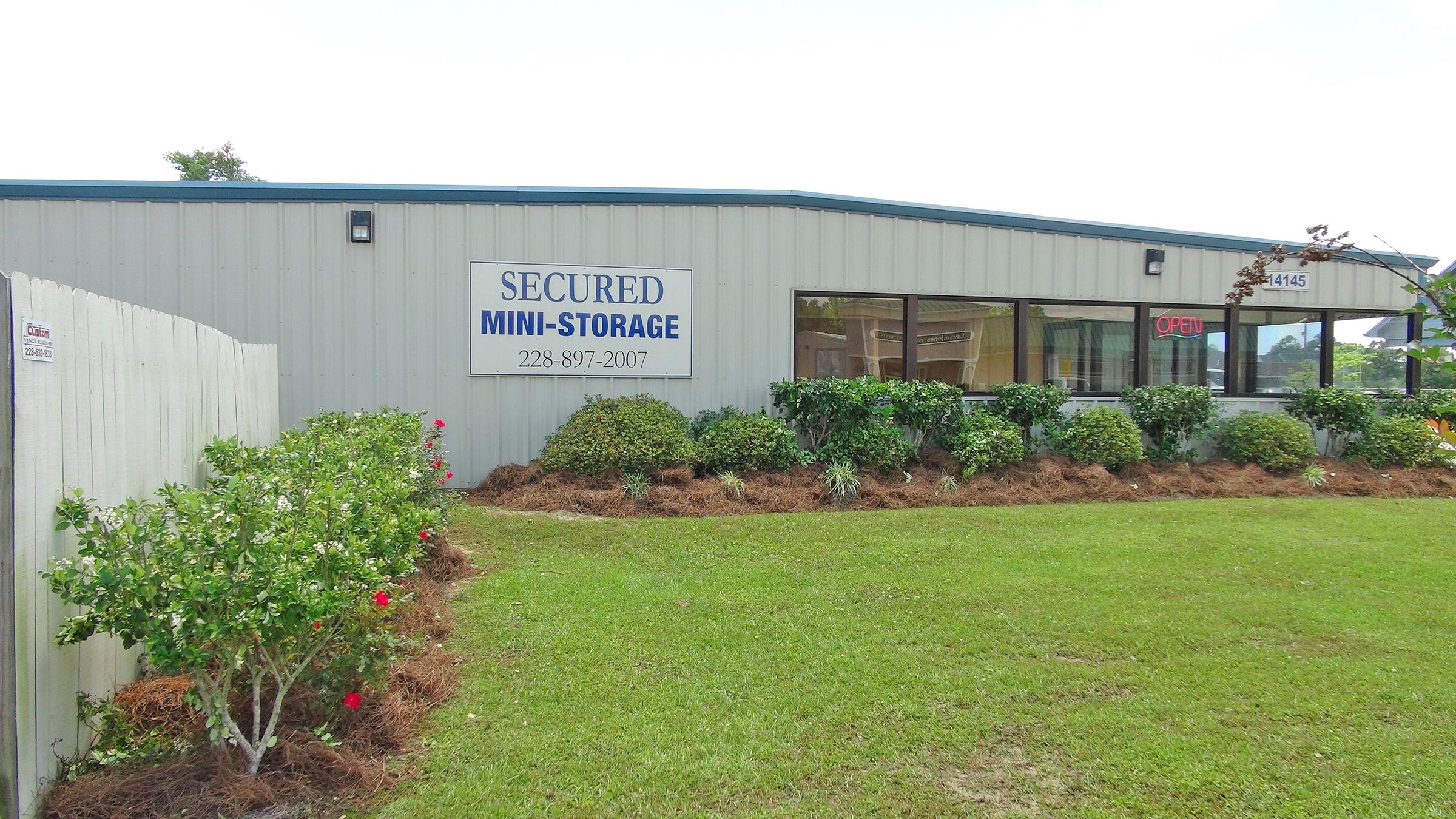 Secured Mini Storage Ii In Gulfport Ms 228 207 1