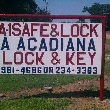 A1 Safe & Lock
