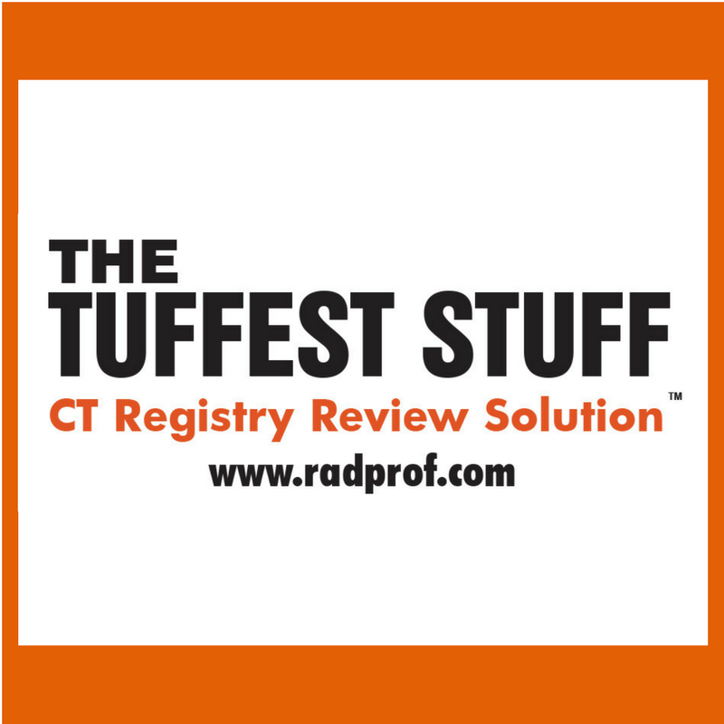 The Tuffest Stuff CT Registry Review Solutions
