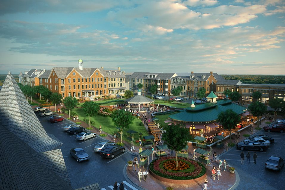 Village Center Apartments image 0