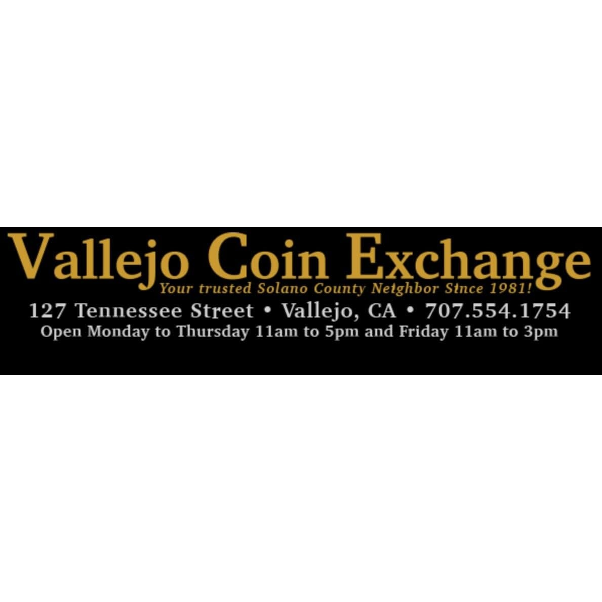 Vallejo Coin Exchange