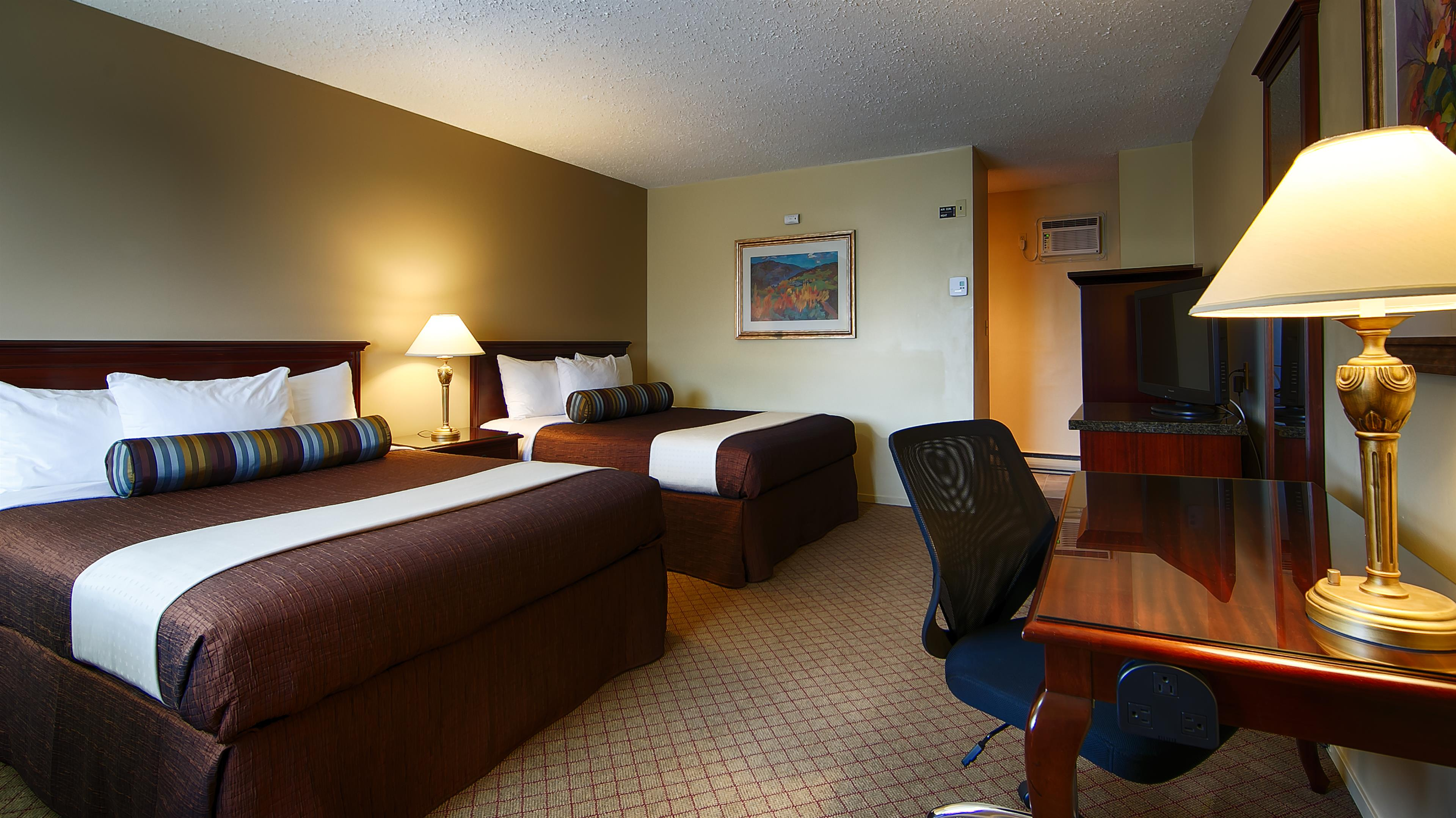 Best Western Bakerview Inn in Abbotsford: Two Queen Guest Room