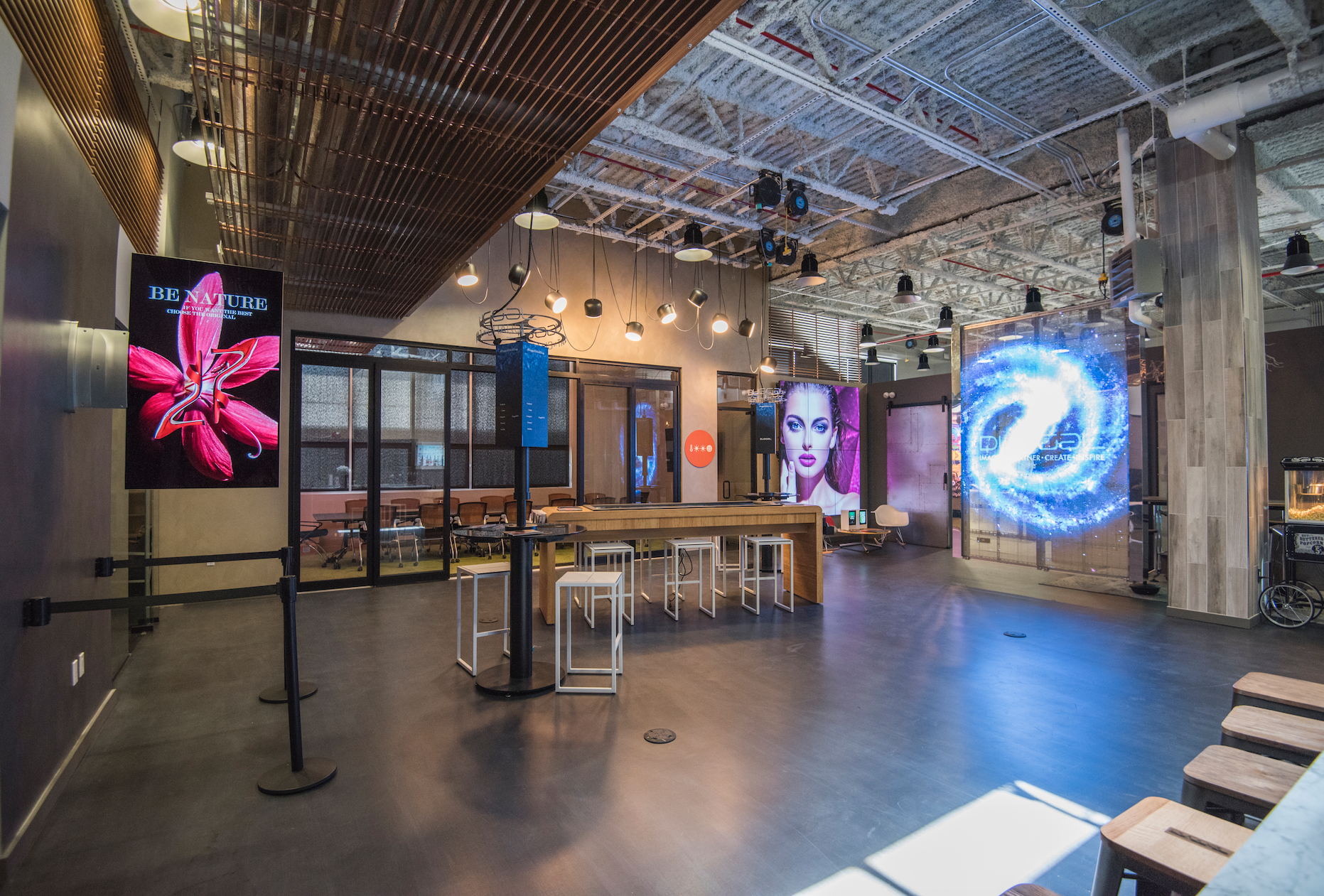 Duggal's Innovation Lab in Brooklyn
