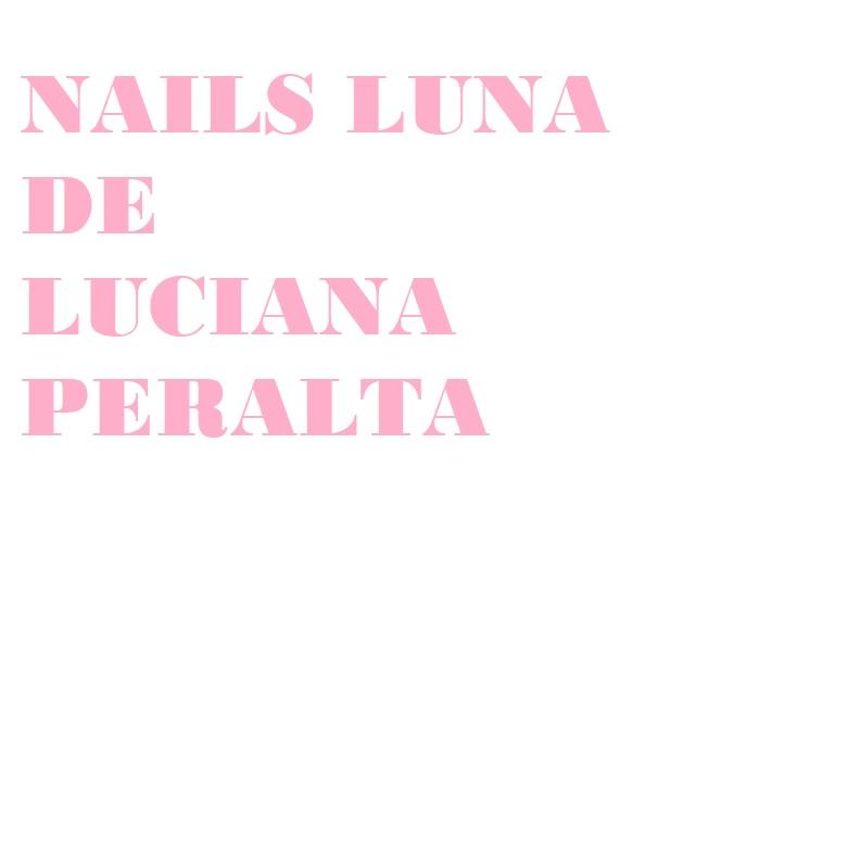 Nails Luna de Luciana Peralta