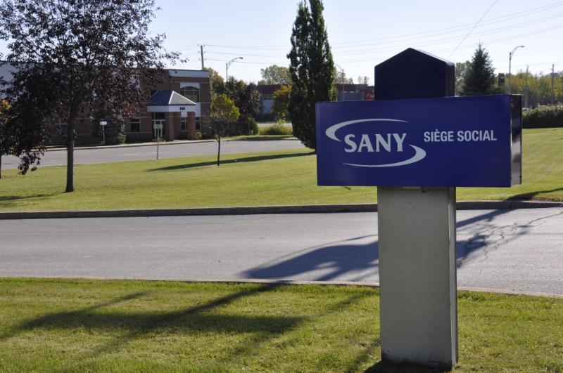 Produits Sany à Joliette