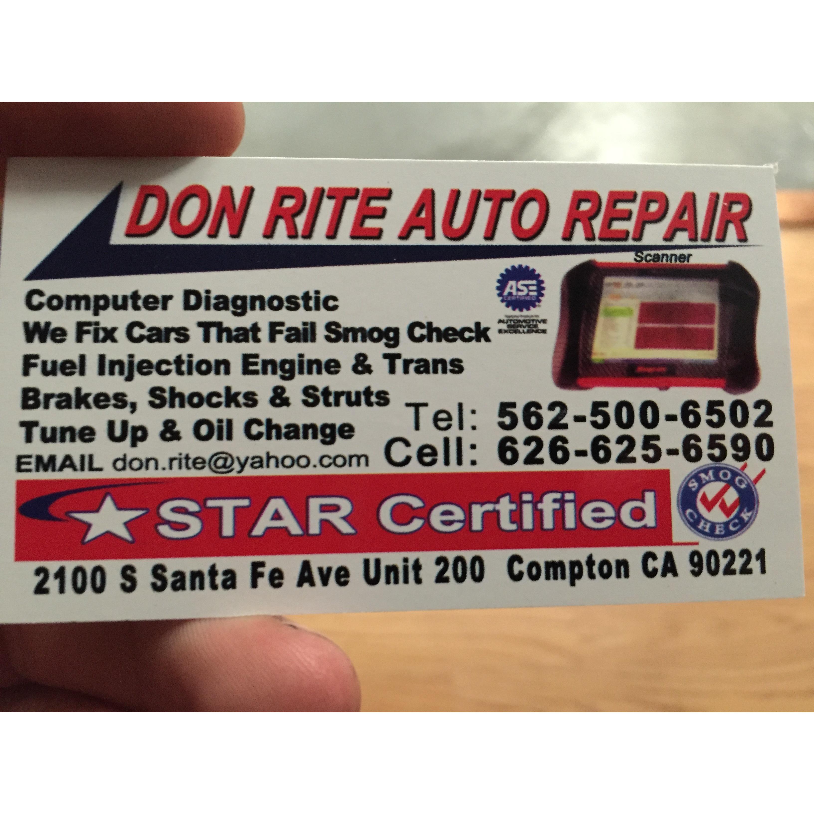 Don Rite Auto Repair