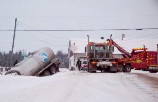 Remorquage Impact à Sherbrooke