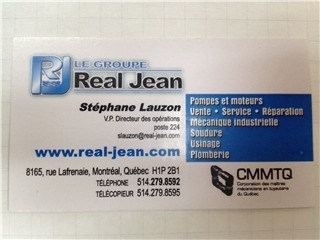 Le Groupe Réal Jean à Saint-Léonard