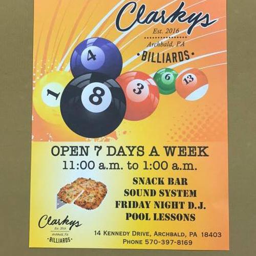 Clarkys Billiards image 8