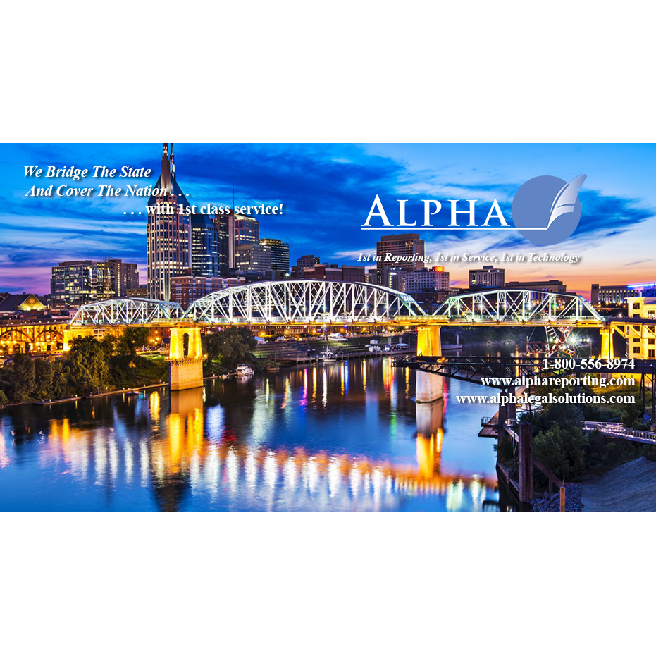 Alpha Reporting Corporation - Nashville