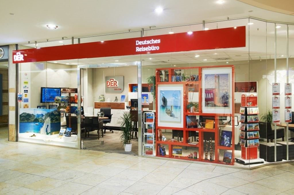 DER Deutsches Reisebüro, Webergasse 1 in Dresden