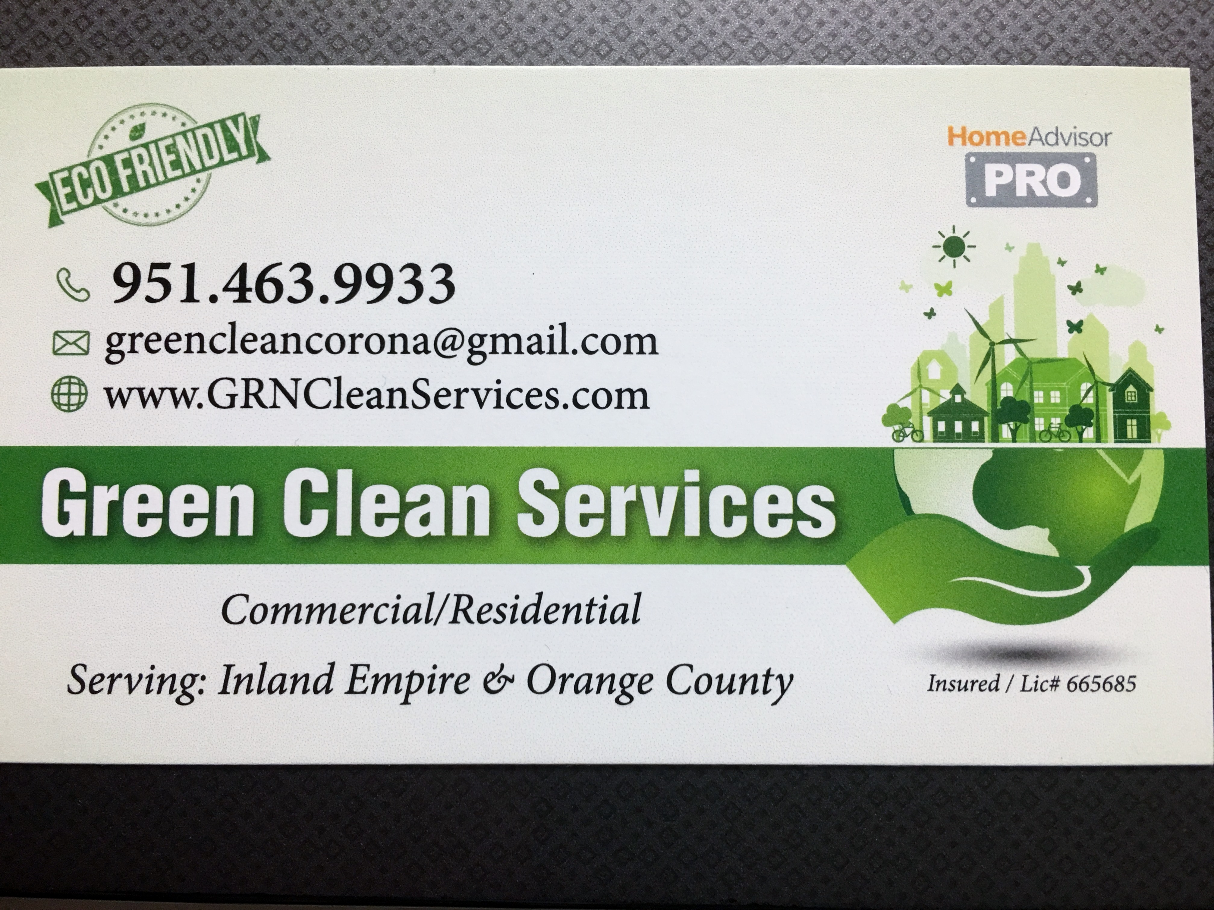 green clean services window cleaning and environmental clean up in