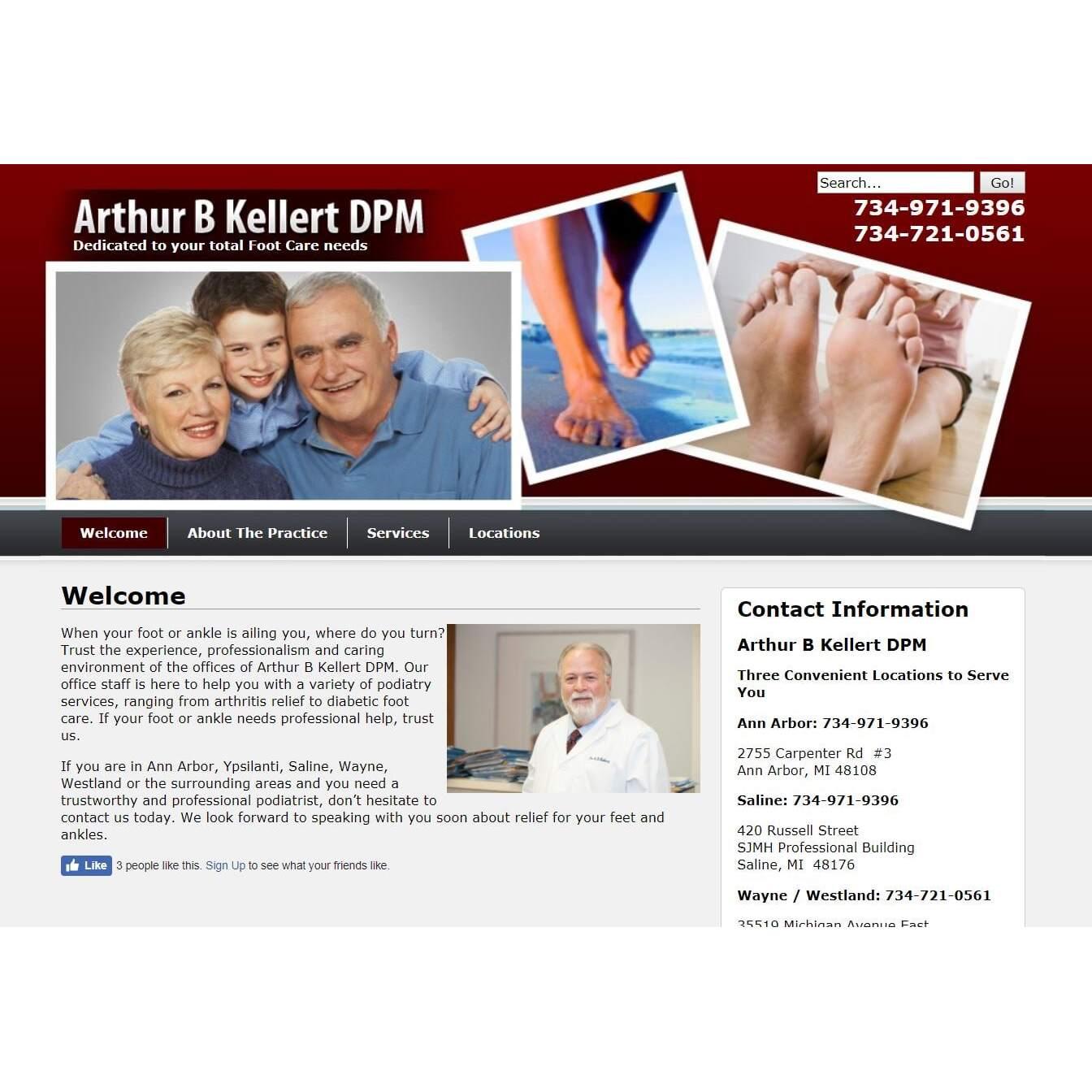 Arthur Kellert DPM