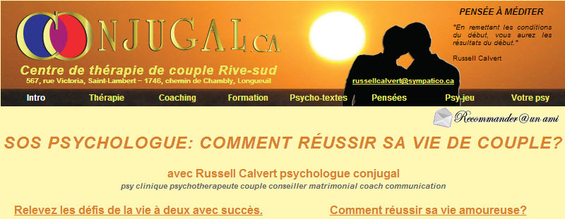 Calvert Russell Psychologue à Saint-Lambert