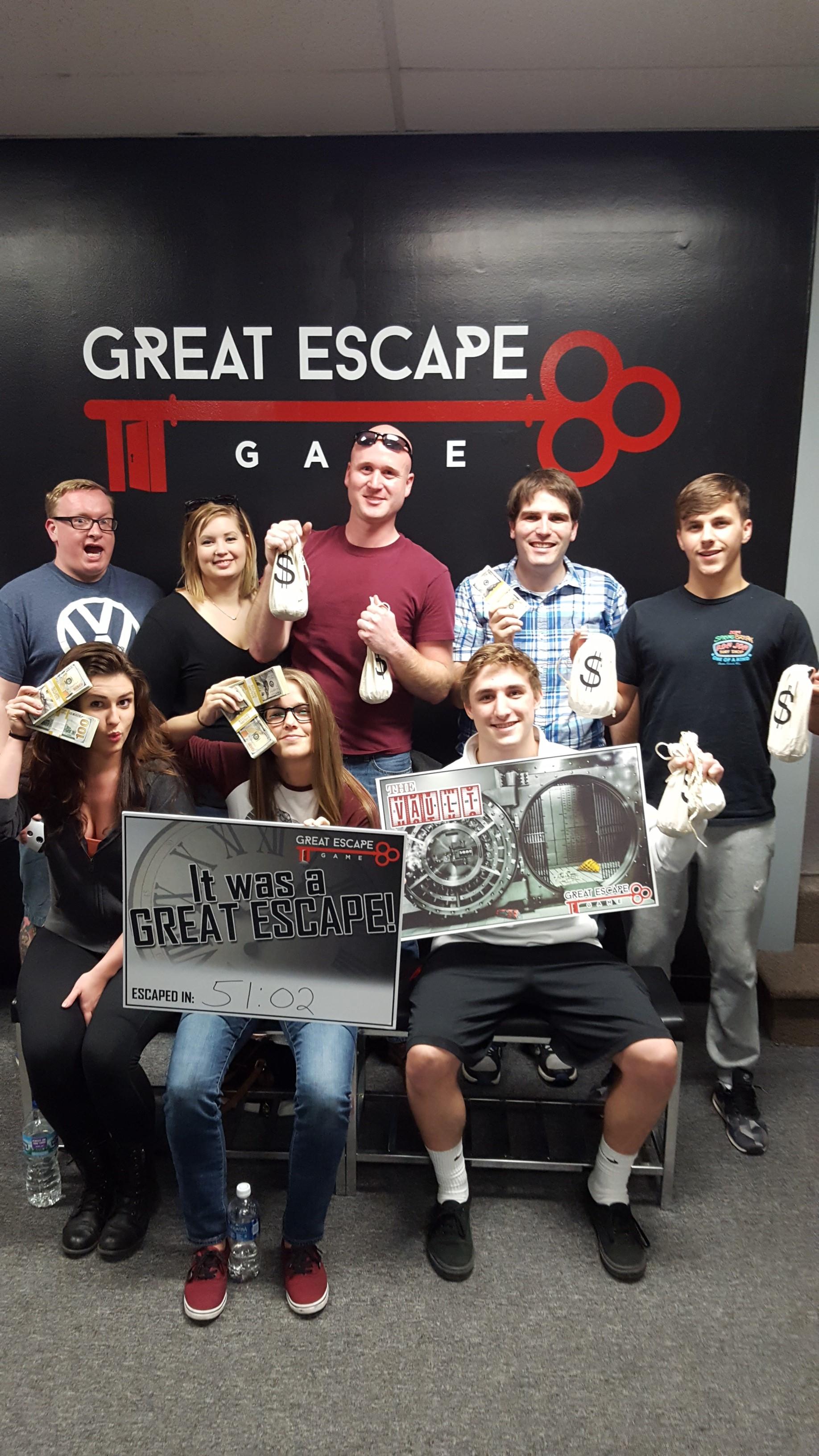 Great Escape Game Dayton Coupons Near Me In Beavercreek