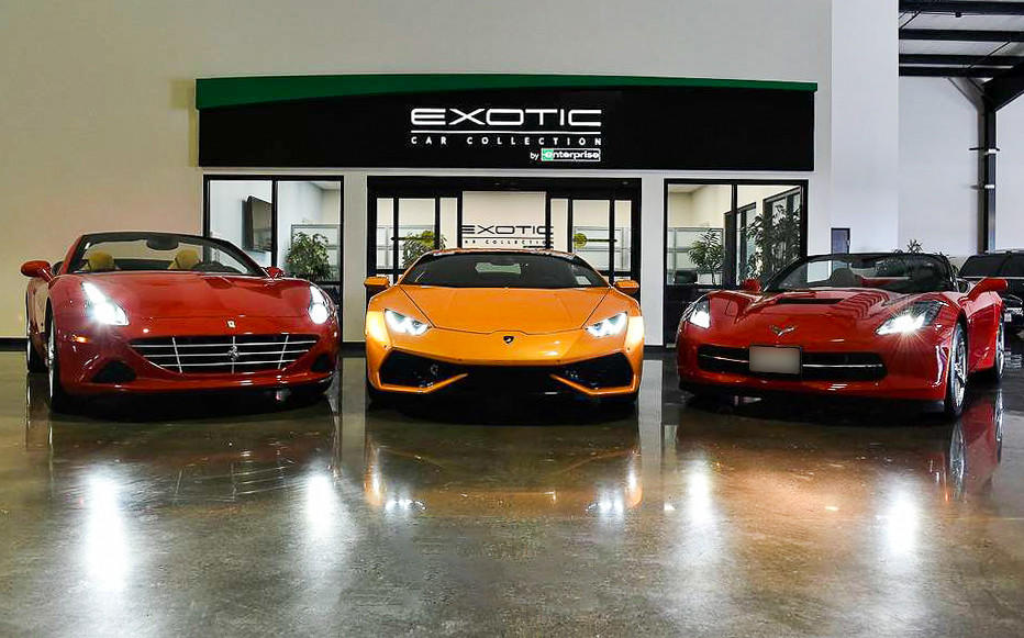 Exotic Car Collection by Enterprise image 4