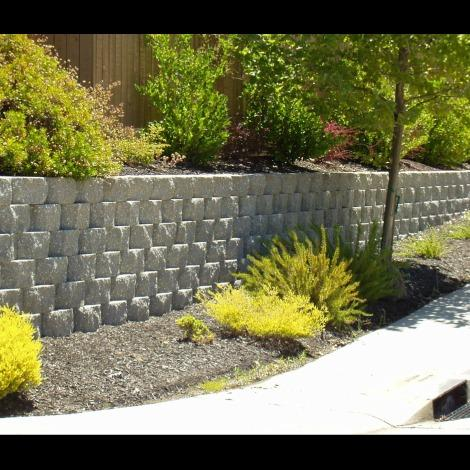 ABRAMS BUILT Retaining Walls, Pavers, and Turf