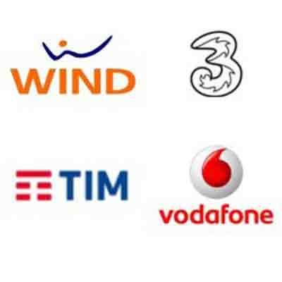 Centertel, Tre, Wind, Tim, Vodafone