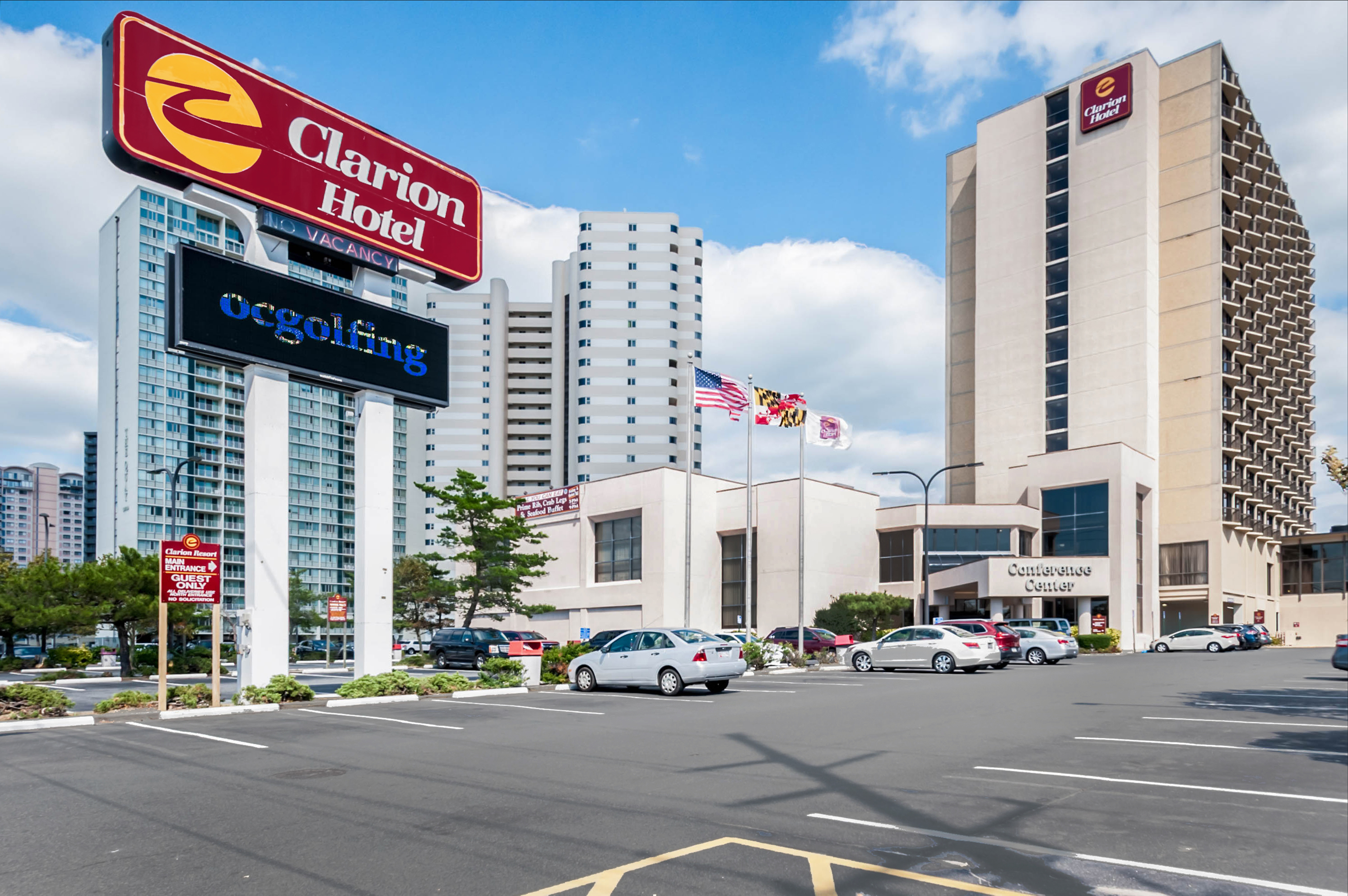 Clarion Resort Fontainebleau Hotel - Oceanfront in Ocean City, MD - (410) 524-3...