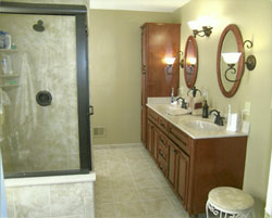 Updike bathroom remodeling in indianapolis in 46227 for Bathroom remodel indianapolis