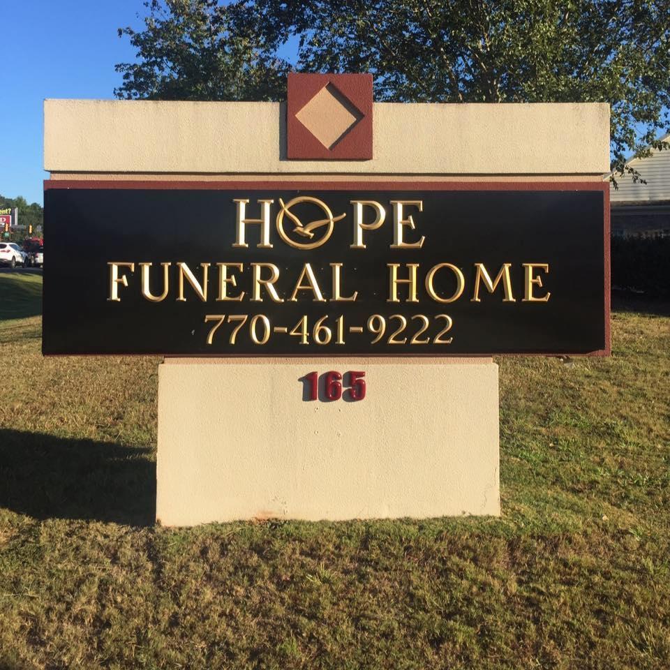 Hope Funeral Home 165 CARNEGIE PL FAYETTEVILLE GA Burial Vaults