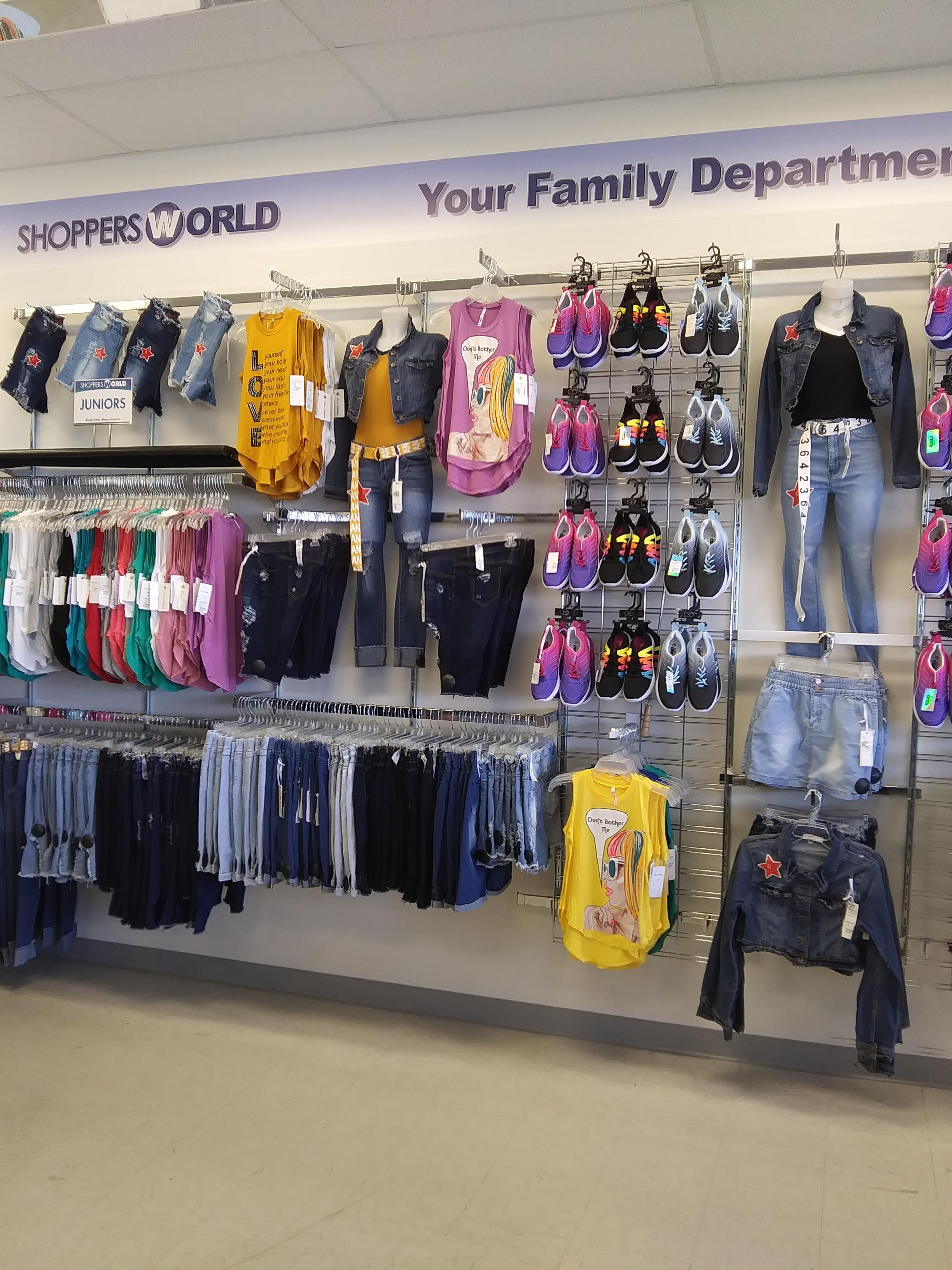 b9e5030540c Shoppers World 8311 Pendleton Pike Indianapolis, IN Clothing Retail ...
