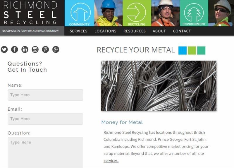 Richmond Steel Recycling Prince George